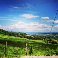vedute delle colline piacentine da Chiulano