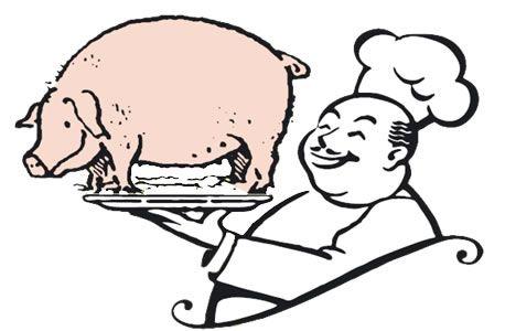 ...il maiale è servito...